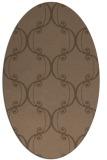 rug #743288 | oval traditional rug