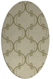 rug #743511 | oval traditional rug