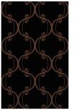 rug #743545 |  black damask rug