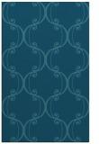 rug #743577 |  blue-green traditional rug