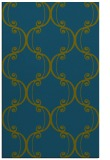 rug #743589 |  blue-green traditional rug