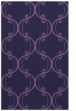rug #743625 |  blue-violet traditional rug
