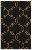 rug #743645 |  black damask rug
