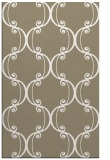 rug #743669 |  mid-brown damask rug