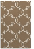 rug #743681 |  mid-brown traditional rug