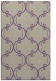 rug #743709 |  purple damask rug