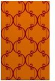 rug #743717    orange damask rug