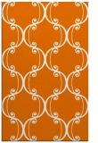 rug #743721 |  orange traditional rug