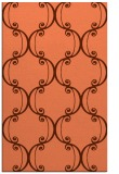 rug #743729 |  orange traditional rug