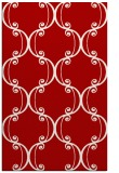 rug #743769 |  red traditional rug