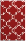 rug #743777 |  red traditional rug