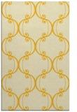 rug #743817 |  yellow damask rug