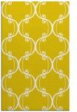 rug #743829 |  yellow damask rug
