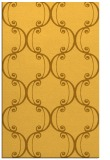 rug #743833 |  yellow damask rug