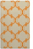 rug #743845 |  orange traditional rug