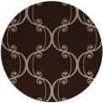 rug #743895 | round damask rug
