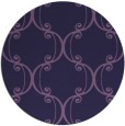 rug #743977 | round purple traditional rug