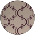 rug #744037   round pink damask rug