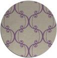 rug #744061   round beige damask rug