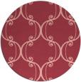 rug #744097   round pink damask rug