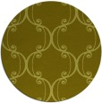 rug #744201 | round light-green rug