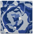 rug #746385   square blue abstract rug