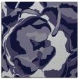 rug #746433 | square blue-violet rug