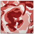 rug #746593 | square red abstract rug