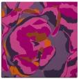 rug #746609 | square red-orange graphic rug