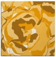 rug #746681 | square light-orange abstract rug