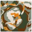 rug #746689 | square light-orange abstract rug