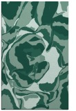 rug #747105 |  blue-green graphic rug