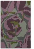 rug #747185 |  green abstract rug