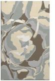 rug #747333 |  beige abstract rug
