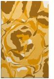 rug #747385 |  light-orange abstract rug