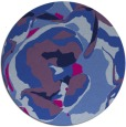 rug #747429 | round blue natural rug