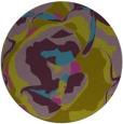rug #747465 | round pink rug