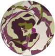 rug #747632 | round graphic rug