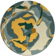 rug #747707 | round abstract rug