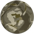 rug #747733 | round light-green abstract rug