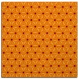 rug #751813 | square red-orange geometry rug