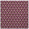rug #751853 | square purple geometry rug