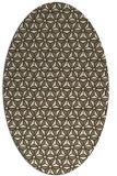 rug #752154 | oval geometry rug