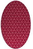 rug #752193 | oval geometry rug