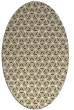 rug #752269   oval white geometry rug