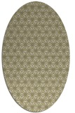 rug #752301 | oval light-green rug