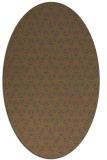 rug #752305 | oval pink rug