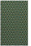 rug #752449 |  brown geometry rug