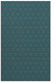 rug #752457 |  blue-green geometry rug