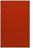 rug #752573 |  red geometry rug